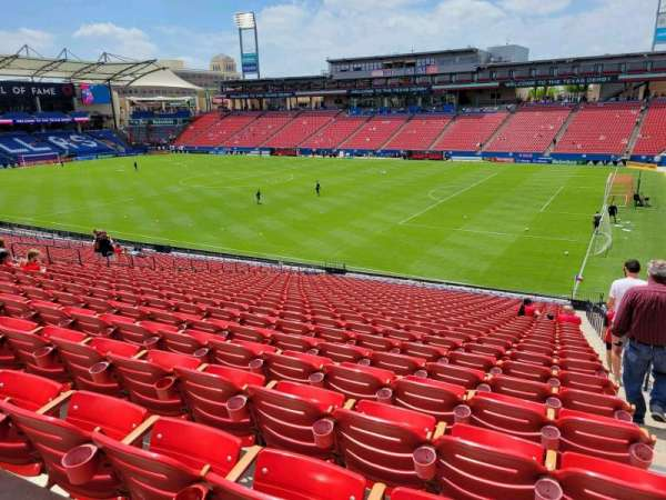 Toyota Stadium, section: 131, row: 30, seat: 22