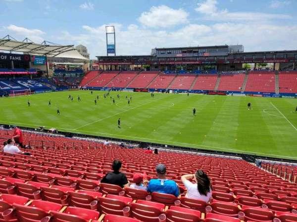 Toyota Stadium, section: 129, row: 29, seat: 20