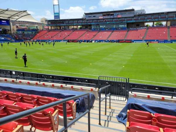 Toyota Stadium, section: 130, row: 7, seat: 1