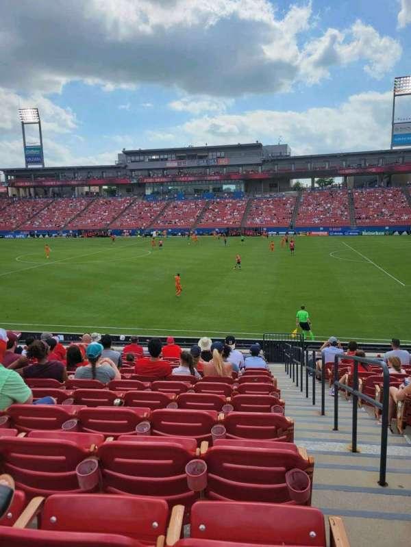 Toyota Stadium, section: 129, row: 16, seat: 23