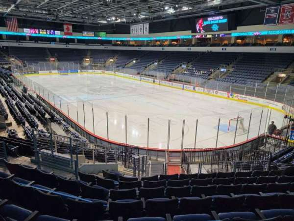 Allen Event Center, section: 112, row: R, seat: 10