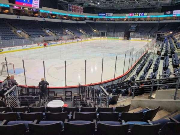 Allen Event Center, section: 119, row: m, seat: 10