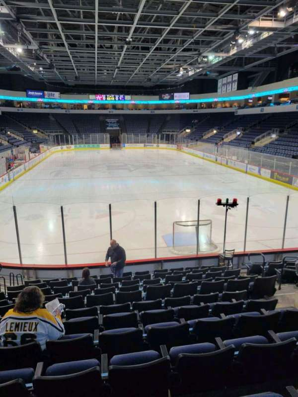 Allen Event Center, section: 100, row: M, seat: 8