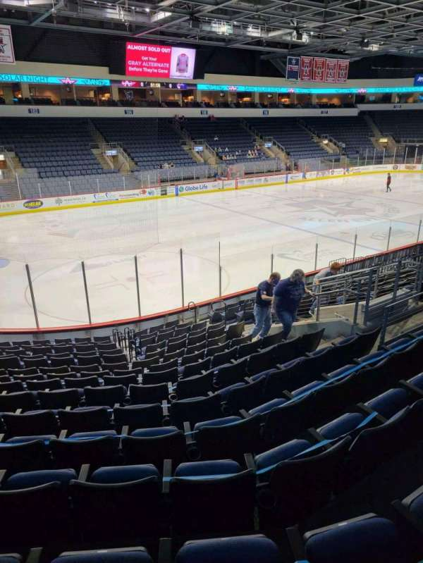 Allen Event Center, section: 118, row: Q, seat: 13