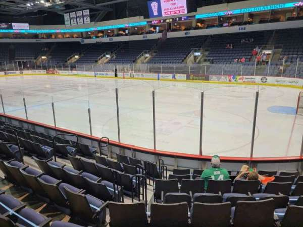 Allen Event Center, section: 102, row: J, seat: 5