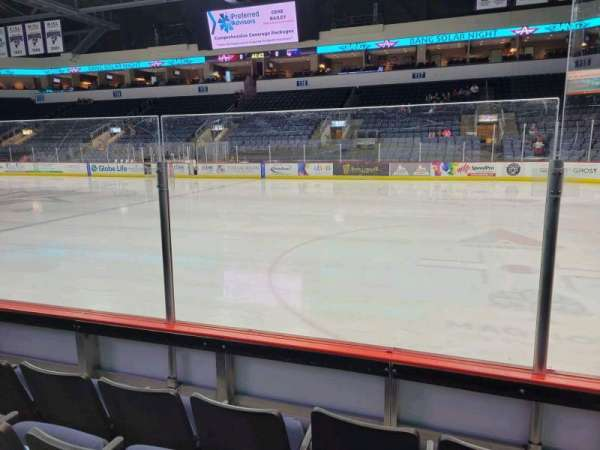Allen Event Center, section: 103, row: D, seat: 3
