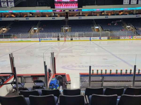 Allen Event Center, section: 104, row: G, seat: 14