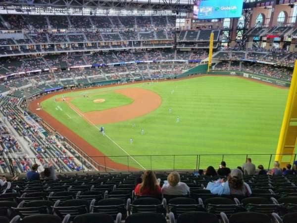 globe life field, section: 230, row: 11, seat: 11