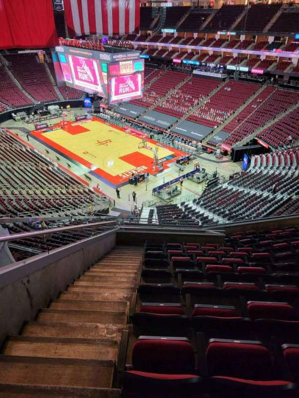 Toyota Center, section: 404, row: 10, seat: 15