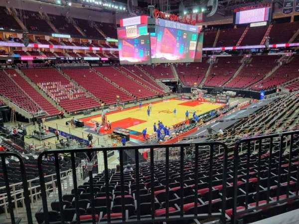 Toyota Center, section: 124, row: wc, seat: 20