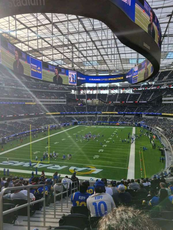 SoFi Stadium, section: 235, row: 20, seat: 20