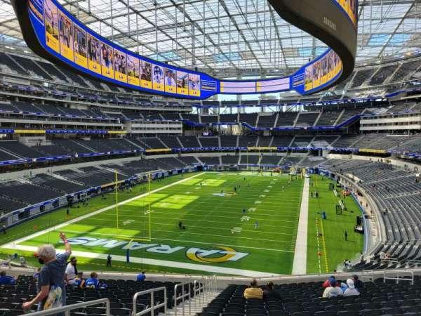 SoFi Stadium, section: 235, row: 20, seat: 19