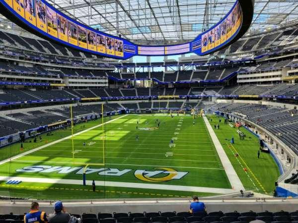 SoFi Stadium, section: 234, row: 10, seat: 10