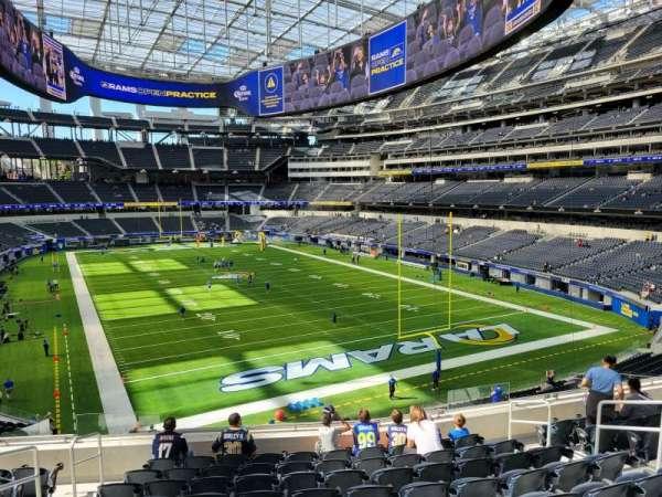 SoFi Stadium, section: 230, row: 10, seat: 10