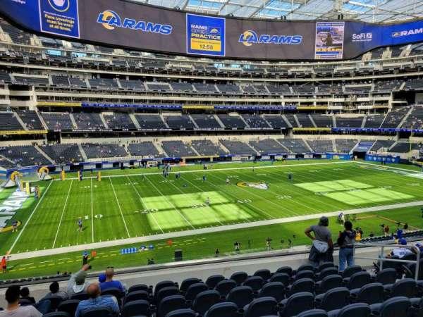 SoFi Stadium, section: C216, row: 9, seat: 9