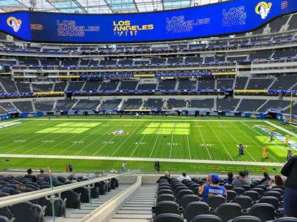 SoFi Stadium, section: C248, row: 14, seat: 20