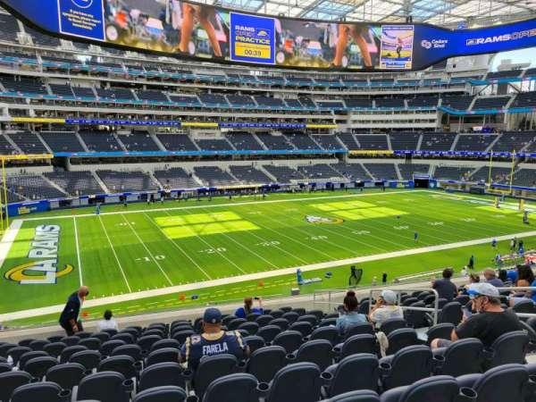 SoFi Stadium, section: C242, row: 12, seat: 7
