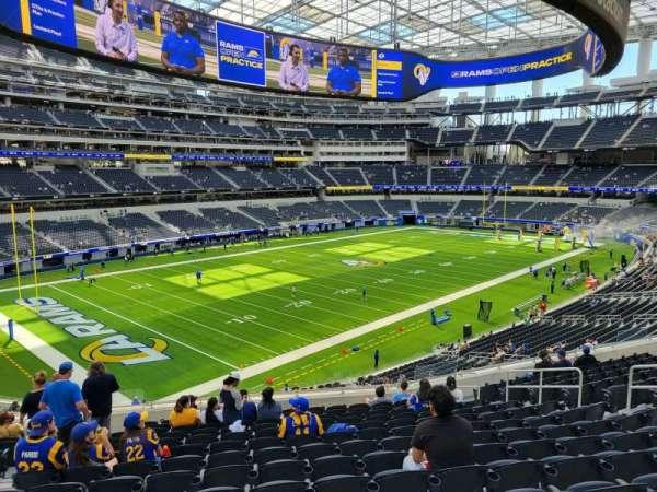 SoFi Stadium, section: 239, row: 14, seat: 14