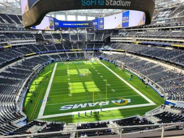 SoFi Stadium, section: 335, row: 6, seat: 13