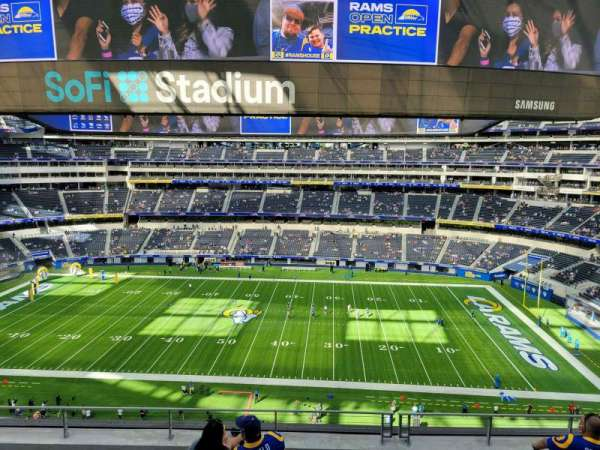 SoFi Stadium, section: 324, row: 6, seat: 10
