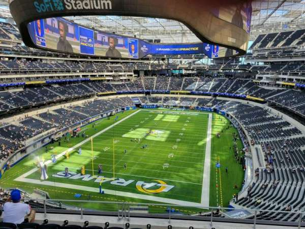SoFi Stadium, section: 311, row: 14, seat: 11