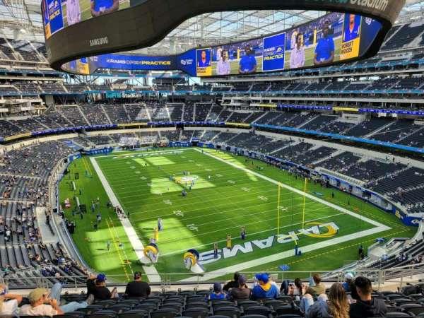 SoFi Stadium, section: 306, row: 12, seat: 12