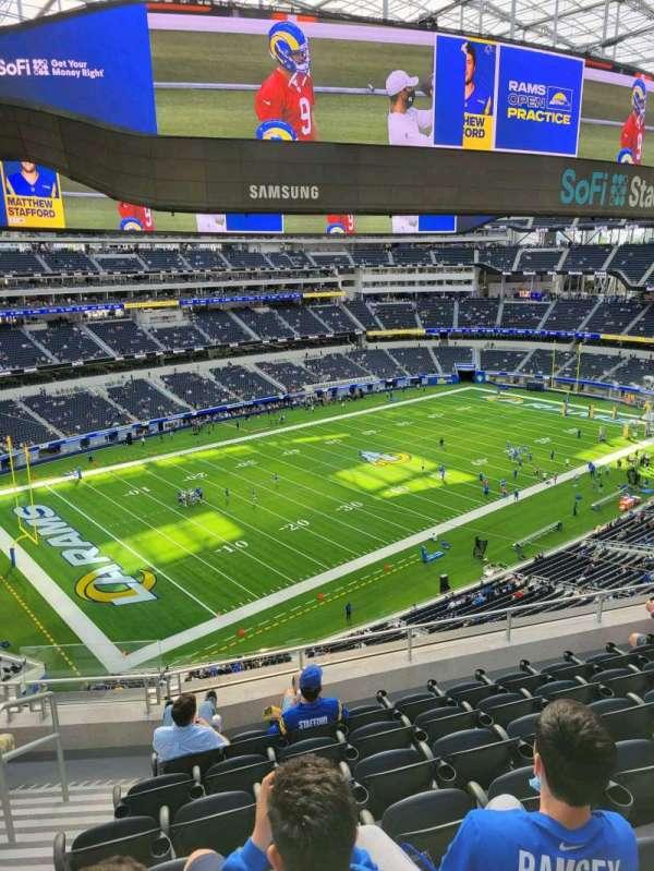 SoFi Stadium, section: 343, row: 7, seat: 23