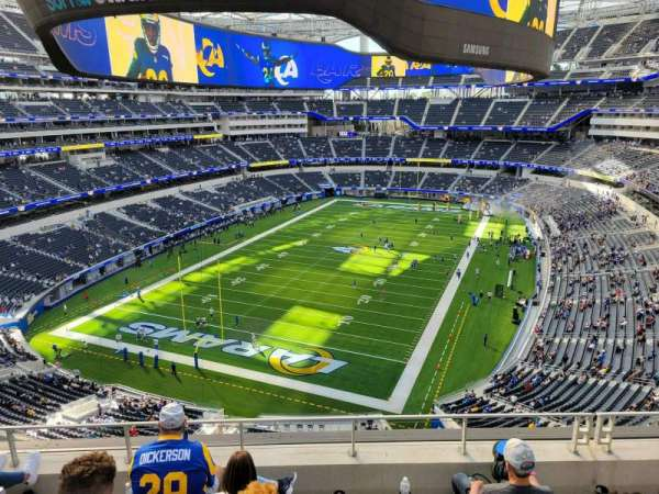 SoFi Stadium, section: 339, row: 5, seat: 13