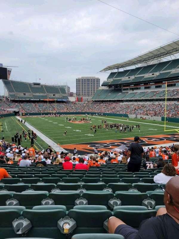 Paul Brown Stadium, section: 160, row: 21, seat: 10
