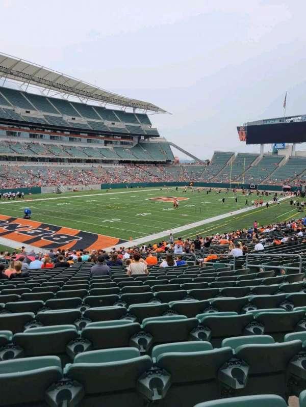 Paul Brown Stadium, section: 119, row: 31, seat: 10