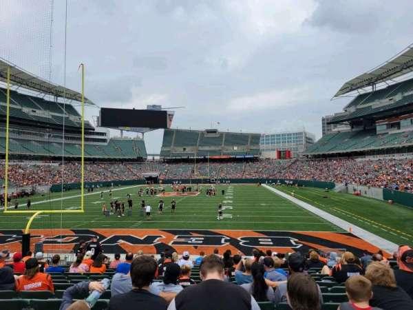 Paul Brown Stadium, section: 152, row: 16, seat: 10