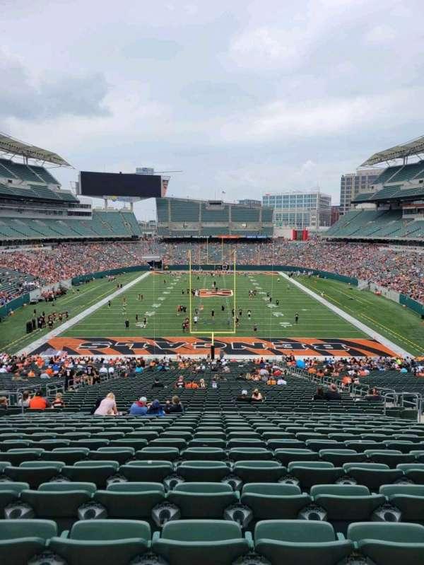 Paul Brown Stadium, section: 154, row: 54, seat: 10