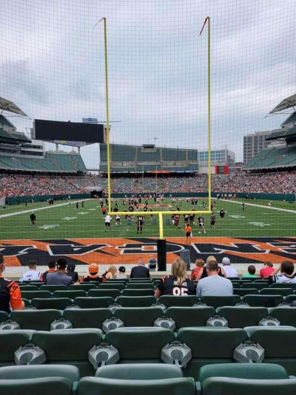 Paul Brown Stadium, section: 154, row: 10, seat: 14
