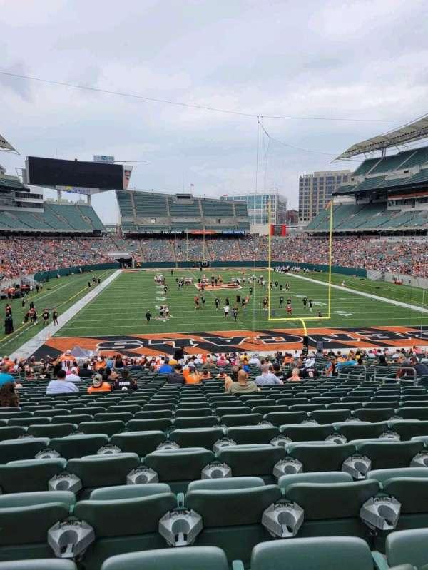 Paul Brown Stadium, section: 156, row: 35, seat: 10
