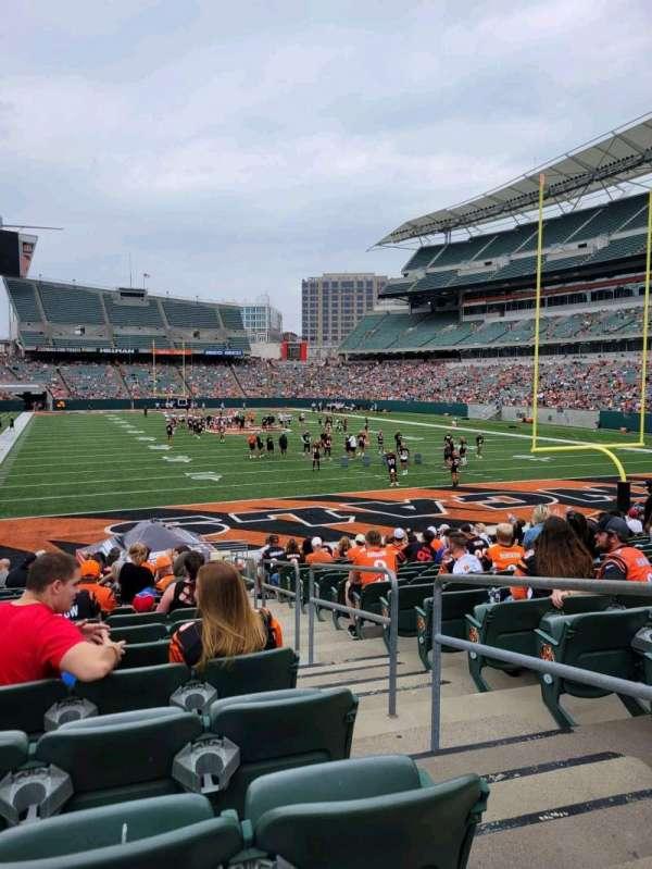Paul Brown Stadium, section: 158, row: 16, seat: 2