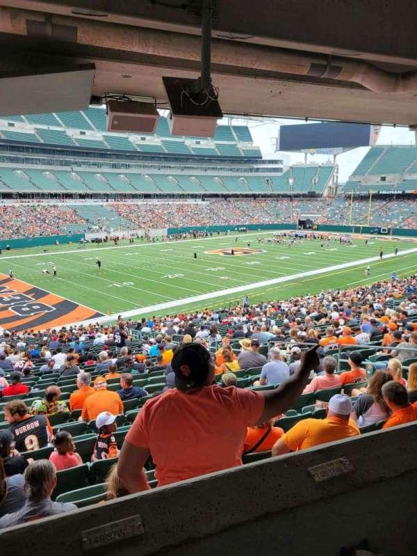 Paul Brown Stadium, section: 148, row: 37w, seat: 7