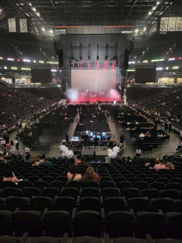 Footprint Center, section: 108, row: 21, seat: 11
