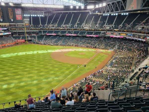 Chase Field, section: 331, row: 14, seat: 10