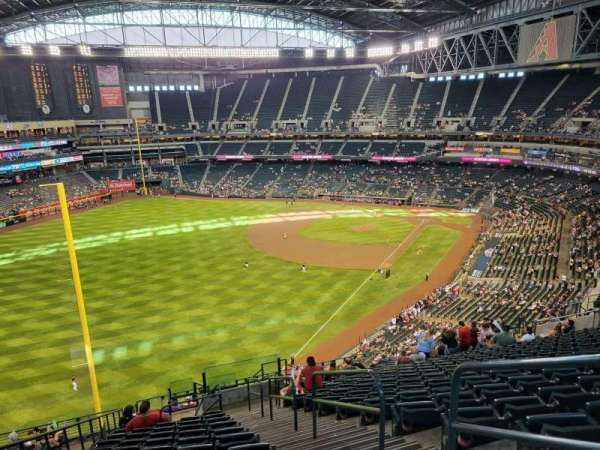Chase Field, section: 332, row: 20, seat: 2