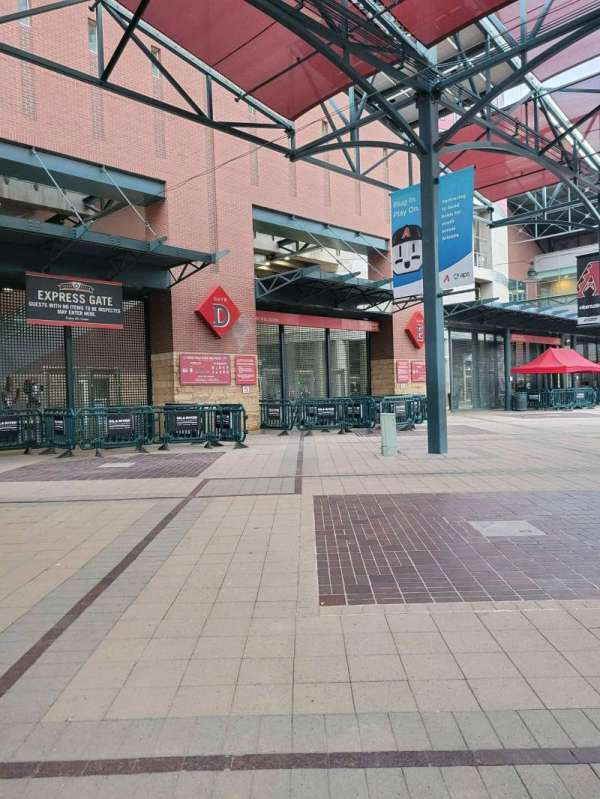 Chase Field, section: Gate D