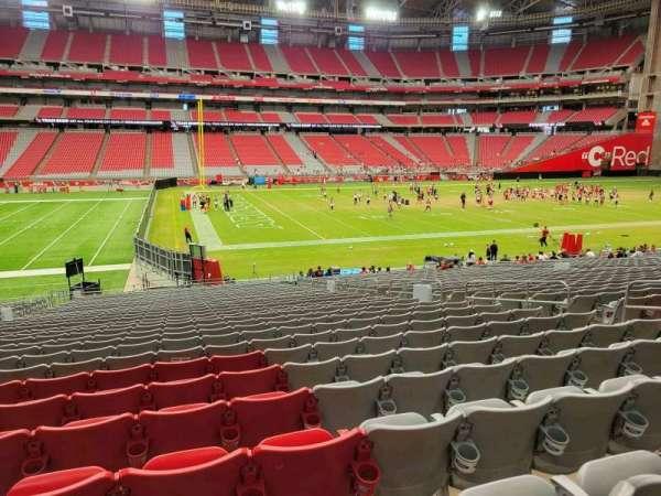 State Farm Stadium, section: 110, row: 30, seat: 10