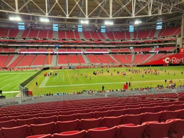 State Farm Stadium, section: 109, row: 38, seat: 10