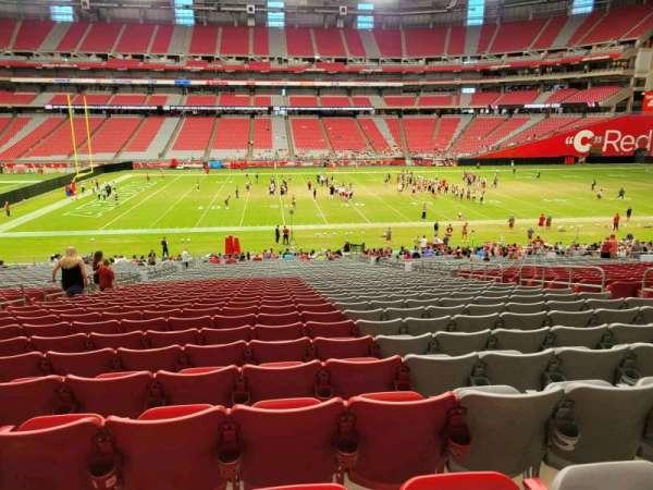 State Farm Stadium, section: 107, row: 40, seat: 10