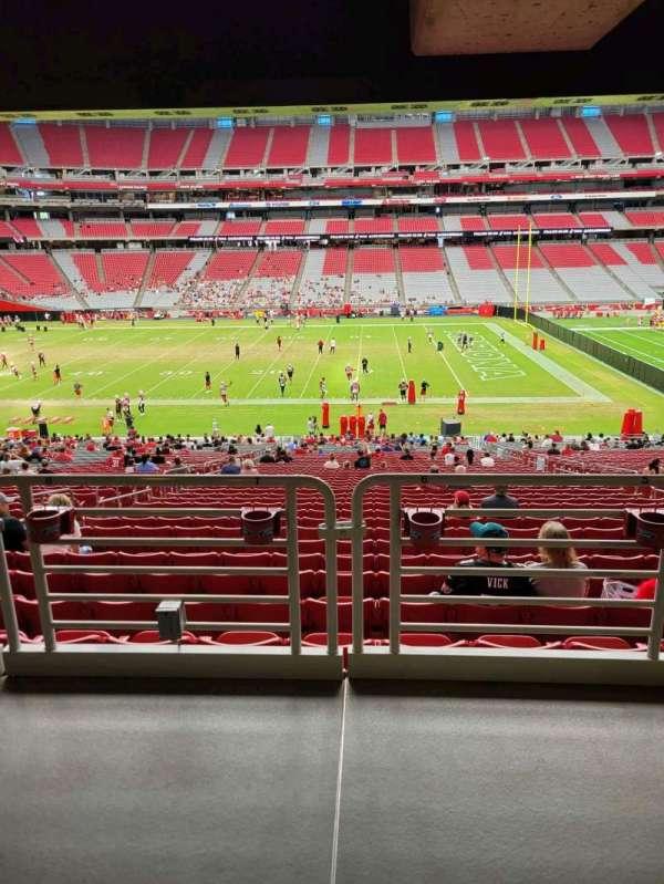 State Farm Stadium, section: 130, row: 41, seat: 7