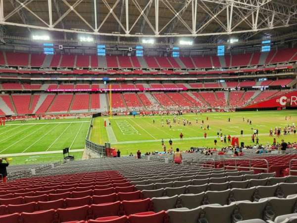 State Farm Stadium, section: 110, row: 39, seat: 10