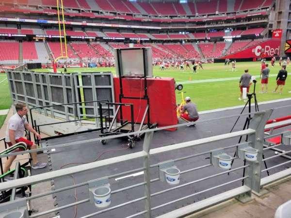 State Farm Stadium, section: 110, row: 2, seat: 13