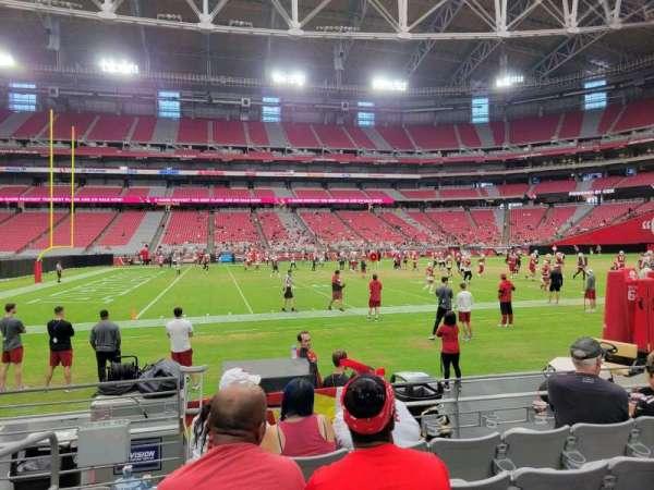 State Farm Stadium, section: 108, row: 5, seat: 18