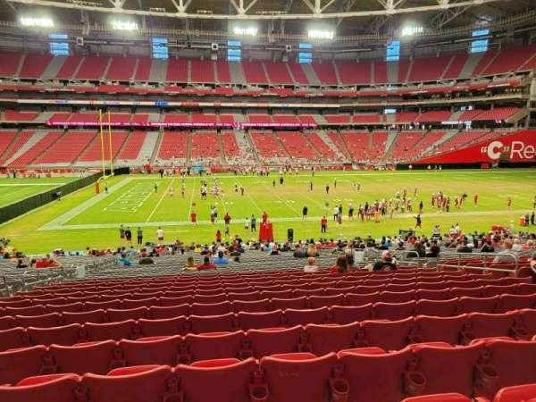 State Farm Stadium, section: 108, row: 35, seat: 11