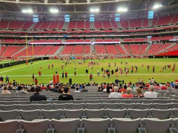 State Farm Stadium, section: 107, row: 24, seat: 7