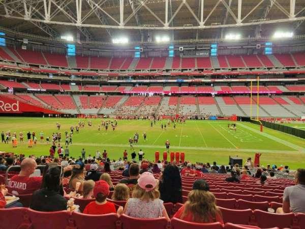 State Farm Stadium, section: 130, row: 25, seat: 11